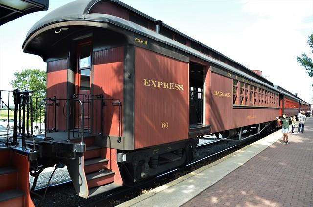 Boston & Maine Railroad; Strasburg Rail Road No. 60,