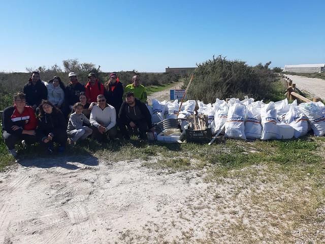 ACA colabora en la mejora ambiental del Paraje Natural Punta Entinas-Sabinar
