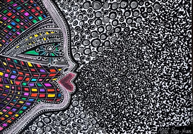 התפשטות קוביד-19 קורונה אמנות ישראלית מירית בן נון ציירת מודרנית עכשווית