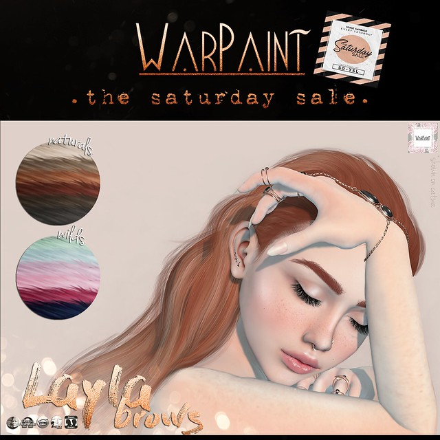 WarPaint @ TheSaturdaySale - Layla brows