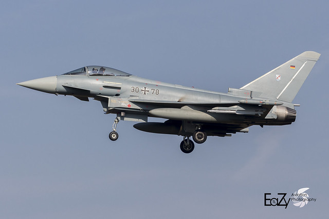 30+78 German Air Force (Luftwaffe) Eurofighter Typhoon