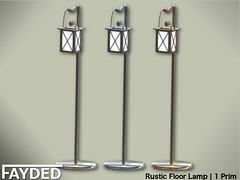 FAYDED - Rustic Floor Lamp