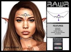 RAWR! Pearl Headband PIC