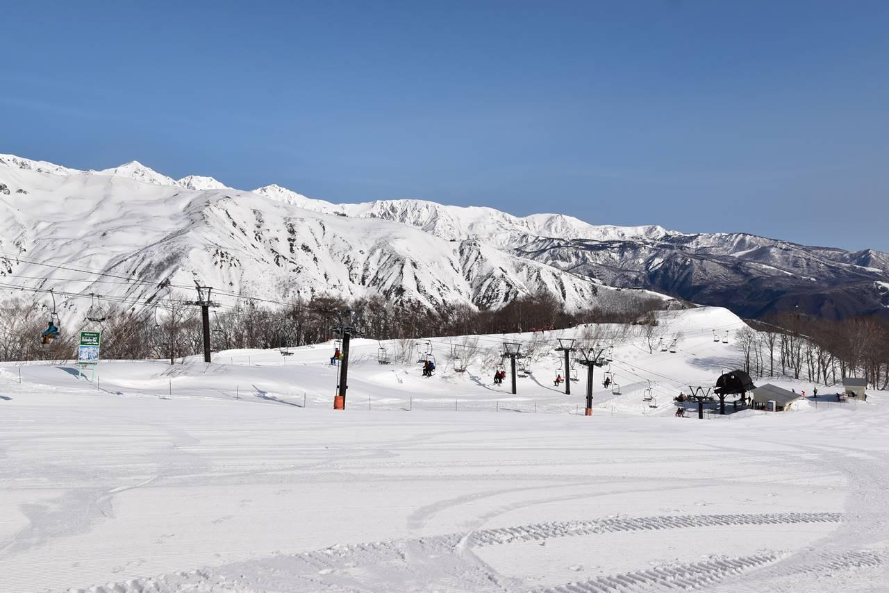 エイブル白馬五竜スキー場・アルプス平