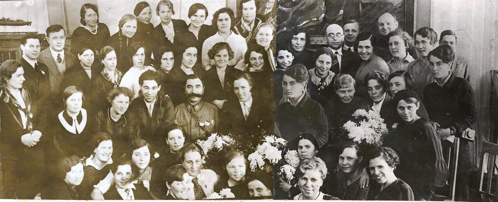 41. Приём участниц пробега в Министерстве обороны СССР
