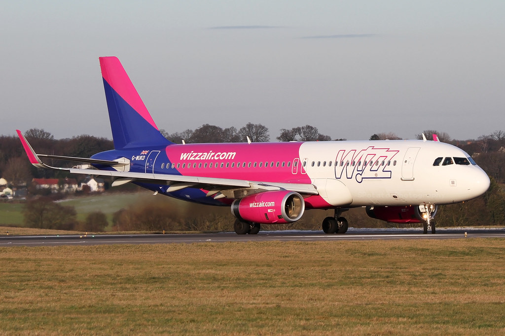 G-WUKD | Wizz Air UK Airbus A320-232 | London Luton Airport EGGW/LTN | 03/02/19