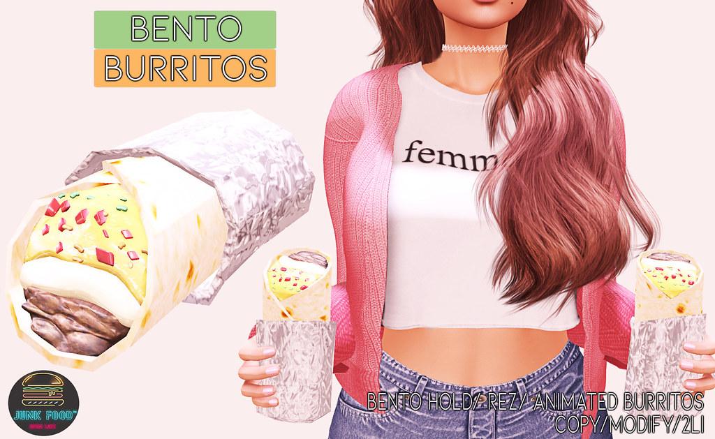 Junk Food – Bento Burritos