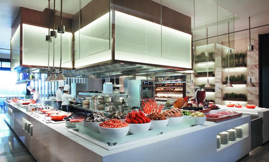 Singapore Marriott Tang Plaza Hotel - Marriott CafÇ - Interior