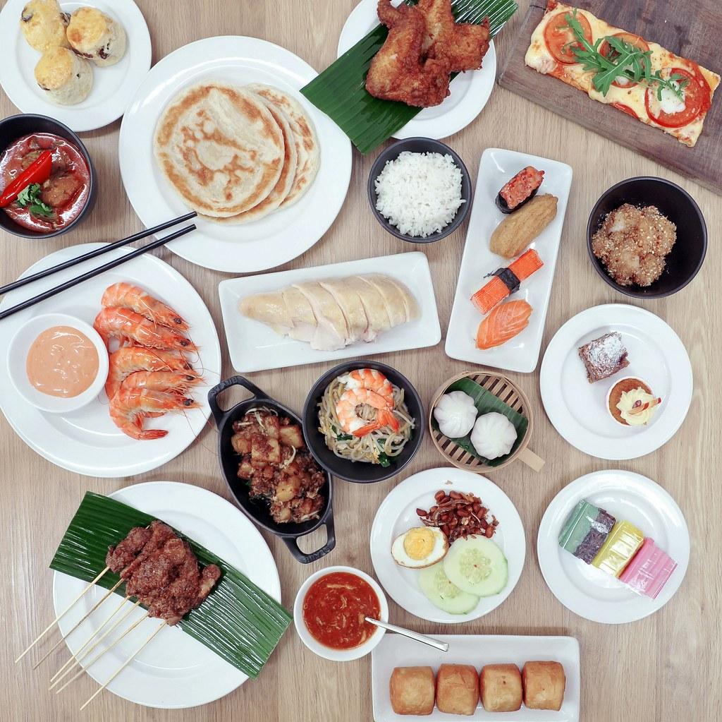 Singapore Marriott Tang Plaza Hotel - Marriott CafÇ - High Tea