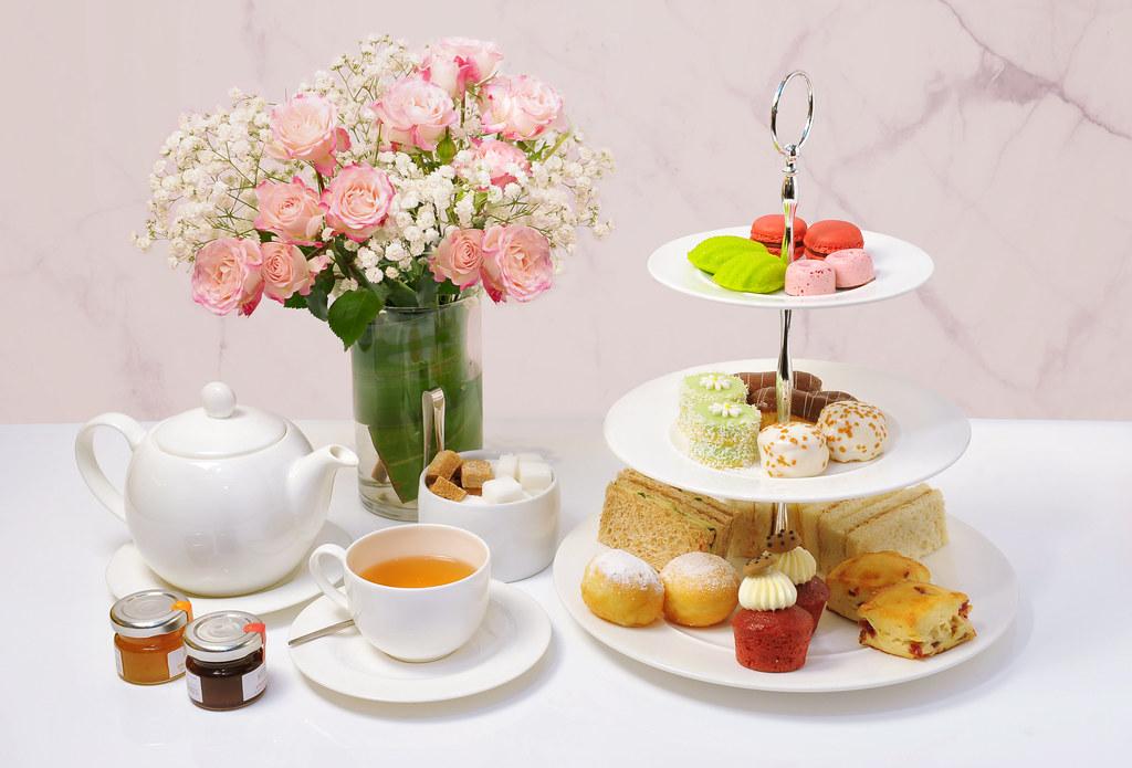 Singapore Marriott Tang Plaza Hotel - Marriott CafÇ - Afternoon Tea (3-tier)