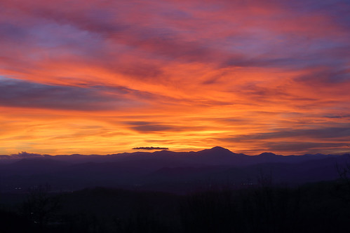 sunset westernnorthcarolina color blueridge appalachians canoneos6d canonef70200f28lis