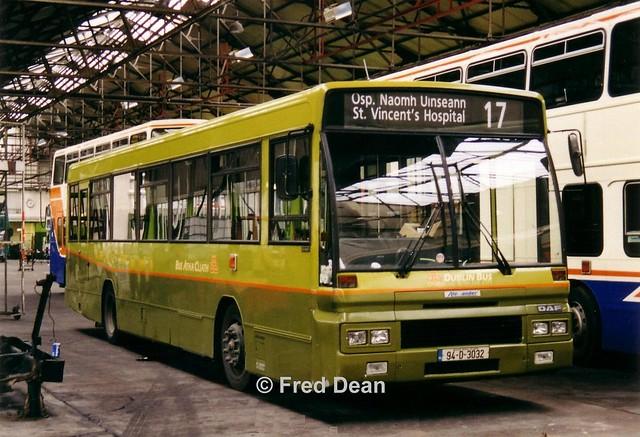 Dublin Bus AD32 (94D3032).