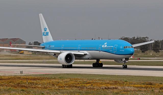 PH-BVG LMML 22-03-2020 KLM Royal Dutch Airlines Boeing 777-306ER CN 38867