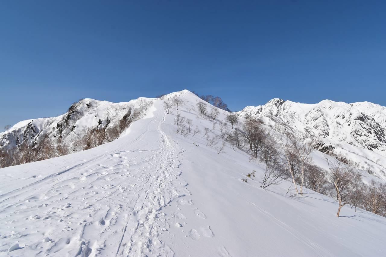 3月の遠見尾根 日帰り雪山登山