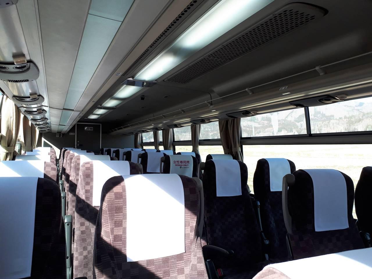 誰も乗っていなかった白馬~新宿高速バス