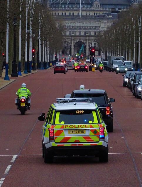 Met Police SEG - Prime Minister Boris Johnson