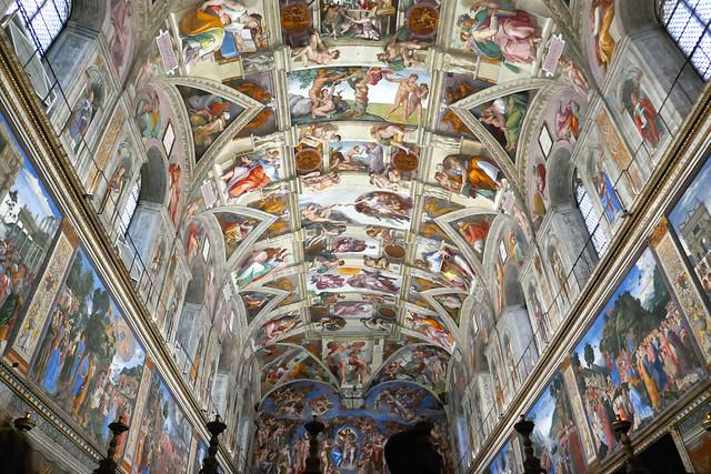 Michelangelo, Sistine Chapel, Vatican City, Rome