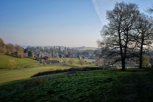 Montacute on a Frosty Morning.