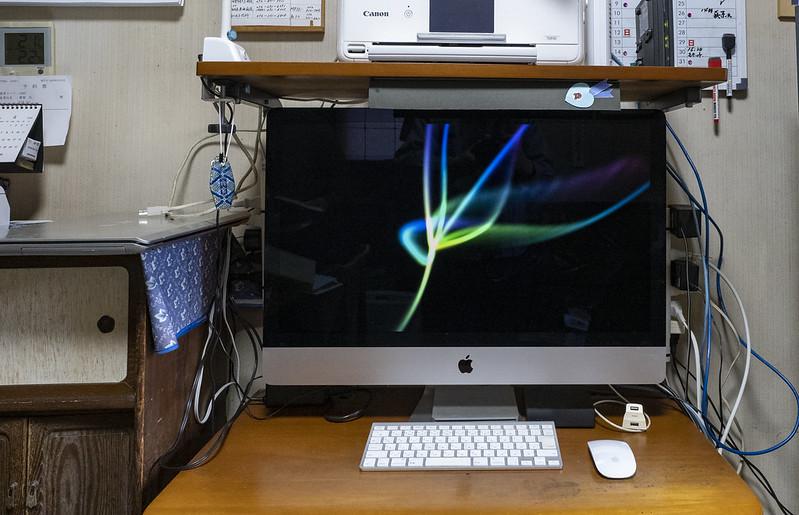 実家のiMacをリプレイス