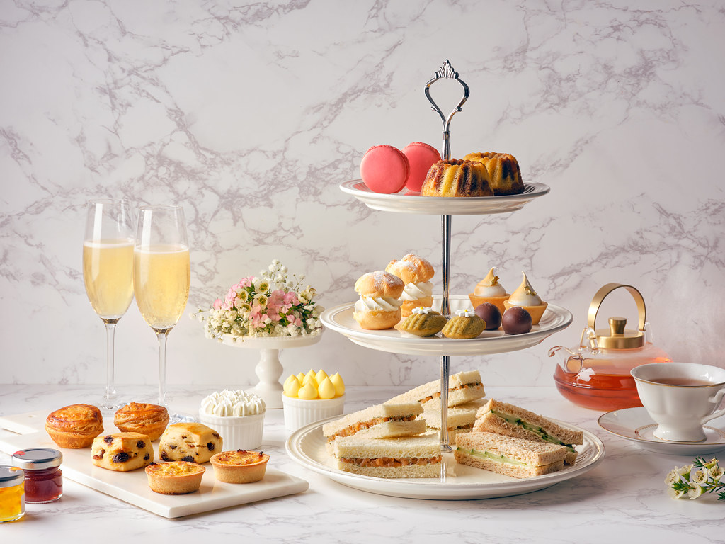Marriott Lobby Lounge 25th Anniversary Heritage High Tea