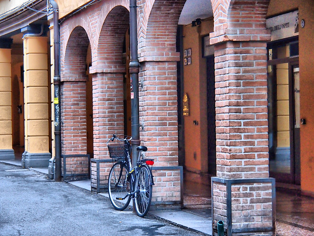 Bicycle and arches