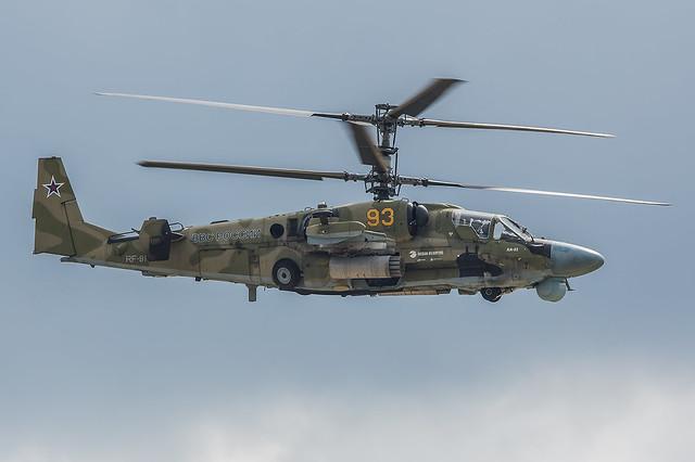 RF-91123, Kamov Ka-52 Russian Air Force @ Kubinka UUMB