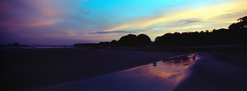 analogue newzealand 30mm sunset ektar100 hasselbladxpanii northisland 2019 panoramic kodak mangawhaiheads northlandnorthisland