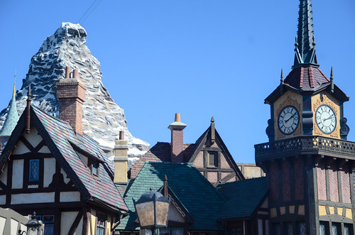 Matterhorn from Fantasyland | by michaela1817