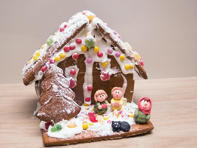 Sarahs Gingerbread House