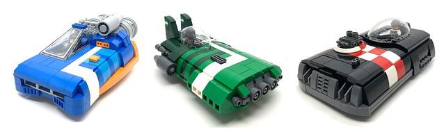 LEGO hover car speeder