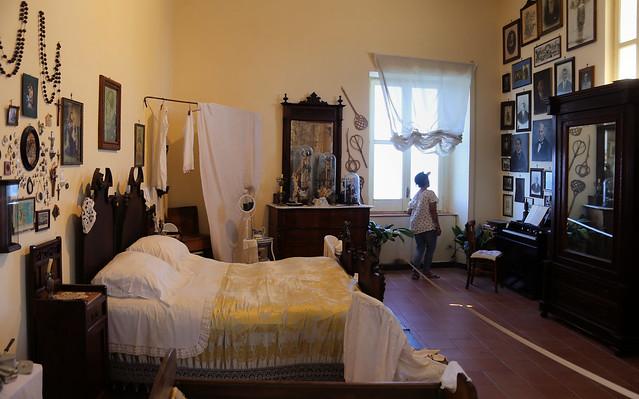 The bedroom of casa di Graziella