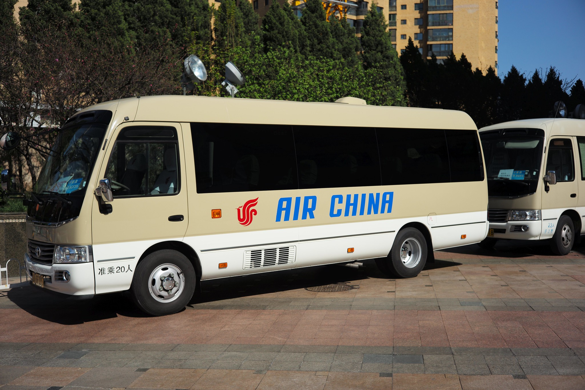 air china am boden