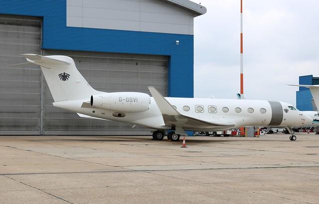 G-GSVI Gulfstream G650
