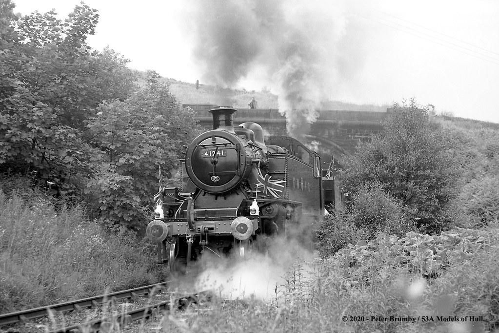 29/06/1968 - Oakworth (K&WVR), West Yorkshire.