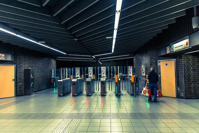 Bruxelles - Métro Stuyvenbergh (V1)