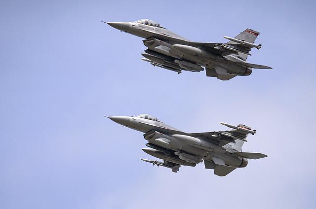 USAF F-16C's