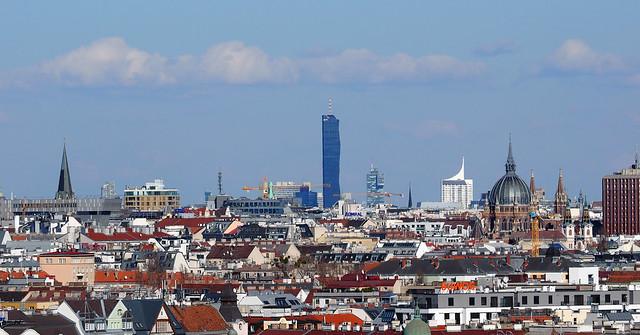 Wien Panorama aus Gloriette