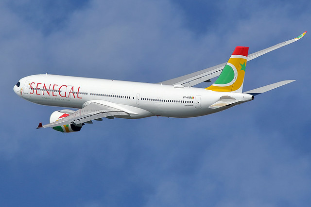 AIR  SENEGAL / Airbus   A 330-900   6V-ANB / LEBL - BCN / mars 2020