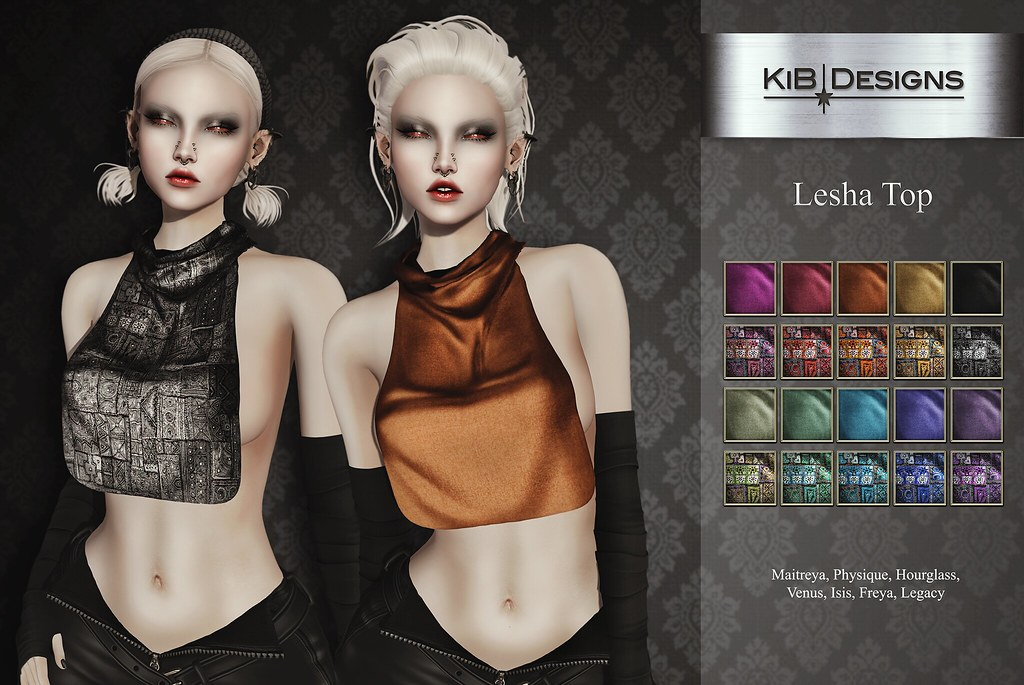 KiB Designs - Lesha Top @Suicide Dollz Event