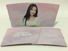 Happy Birthday Park Soo-Young Red Velvet Joy 레드벨벳 박수영