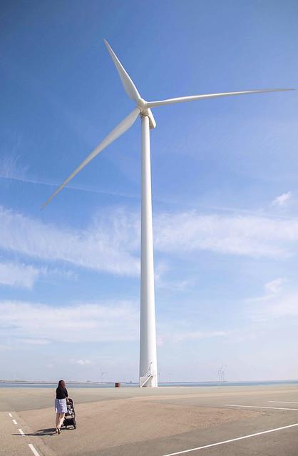 Giant Windmill Netherland