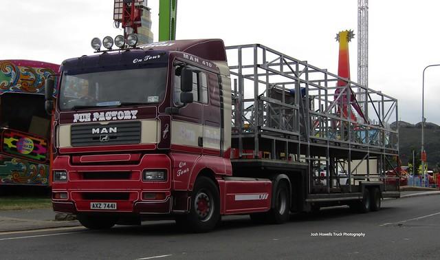 AXZ 7441 (N. Ireland) At Bray