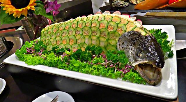 Seafood Buffet, Scenic Jade, Masstricht to Duisburg