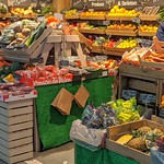 Well stocked Fresh & Fruity stall at Preston Market
