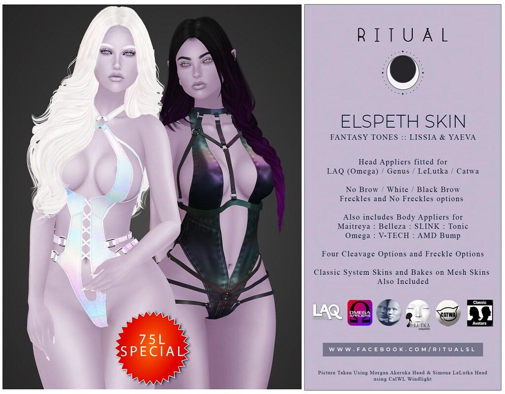 Elspeth Skin – Fantasy Tones – Lissia & Yaeva