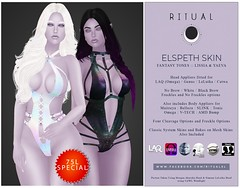 Elspeth Skin - Fantasy Tones - Lissia & Yaeva