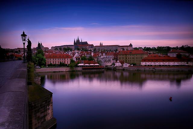 Early Morning at Prague