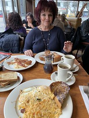 Delicious breakfast at Remedy Diner New York