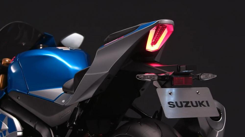 Suzuki GSX-R1000R Livery MotoGP Rear