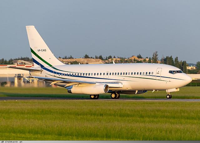 Boeing 737-200 Jet Connections Ltd VP-CAQ